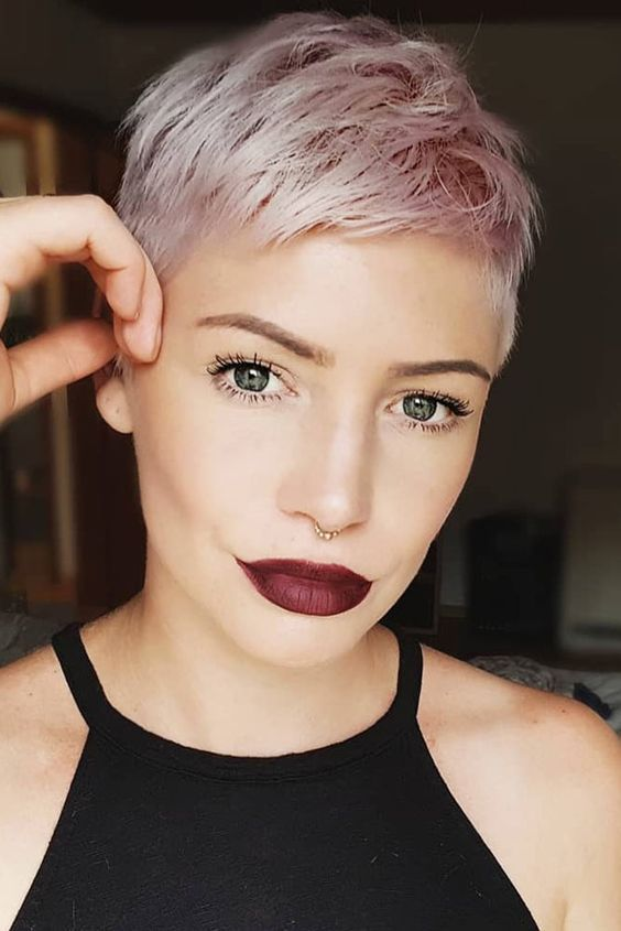 Need a Change? Start the New Year With a New 'Do | Super short .