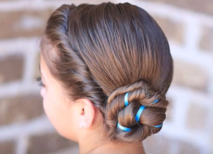 How to Do Your Hair Like Anna and Elsa From Frozen | POPSUGAR Fami