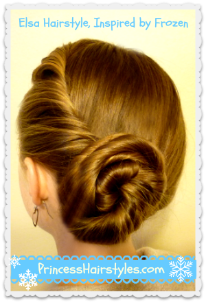 Elsa Hairstyle Tutorial Inspired By Disney (Frozen)   Hairstyles .