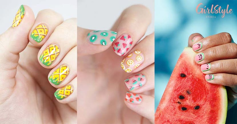 20 Cute & Juicy *Fruit Nail Art* Ideas To Help You Stay Healthy .