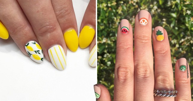 25 fruity nail designs perfect for summer | Metro Ne