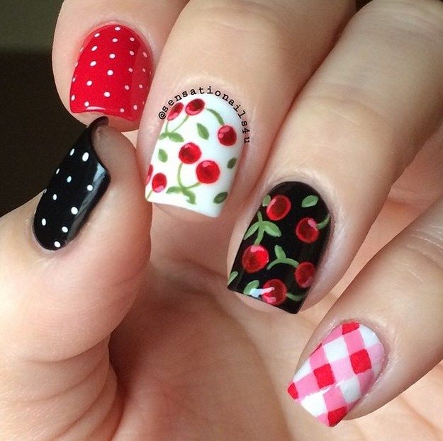 Yummy Fruit Nail Art Designs On Instagram To Drool Over | Fruit .