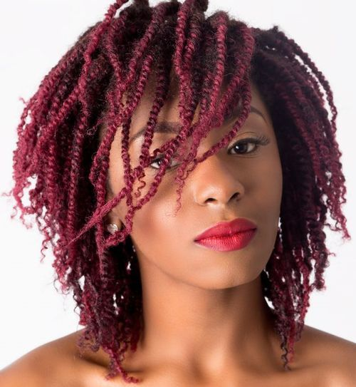 Fun Twisted Hairstyles for Natural Hair – African American Hair Ide