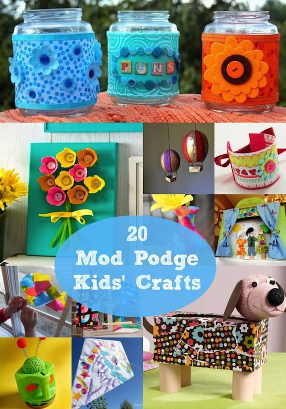 20 Easy Arts and Crafts for Kids that Are Guaranteed Fu