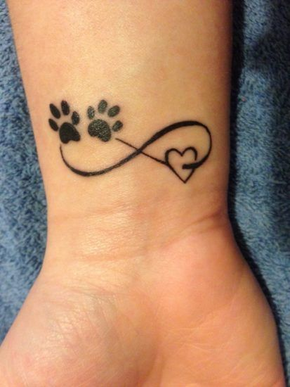 11 funny paw tattoo designs | Wrist tattoos for women, Wrist .