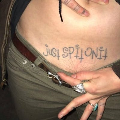 Tattoo uploaded by Justine Morrow | Funny Tattoos: Say it, don't .