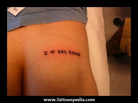 Funny Tattoos To Get On Your Bum