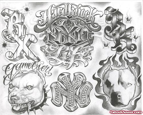 Gangster Tattoos Designs For Men | Tattoo Viewer.c
