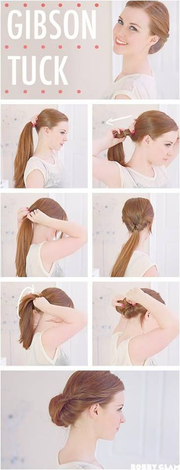 Gibson Tuck Hair Tutorials