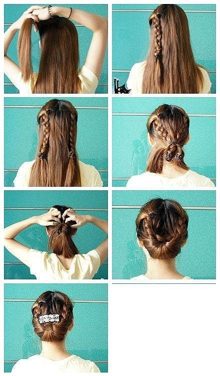 Hair Tutorials to Have: Gibson Tuck Hair Tutorials - Pretty Desig