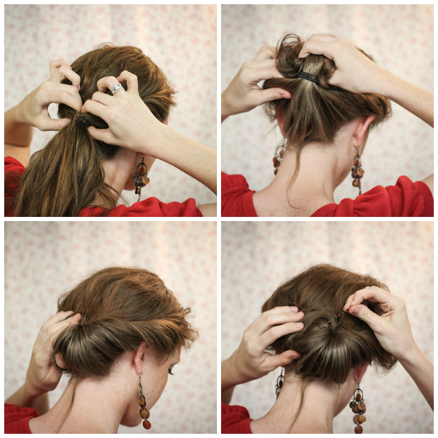 Hair Tutorial// The Gibson Tuck | Hair tutorial, Gibson tuck, Hair .