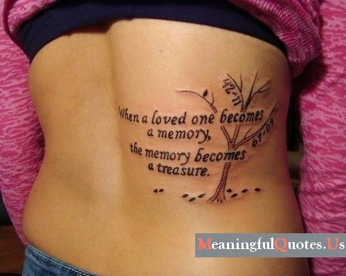 20 Girls Quotes Tattoos You May Love - Famepa