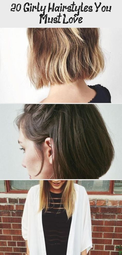 20 Girly Hairstyles You Must Love – Hair Styles in 2020 | Girly .