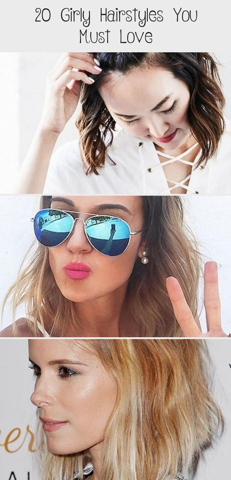 20 Girly Hairstyles You Must Love | Girly hairstyles, Side braid .