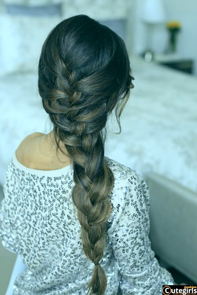 16 Glamorous French Braid Hairstyl