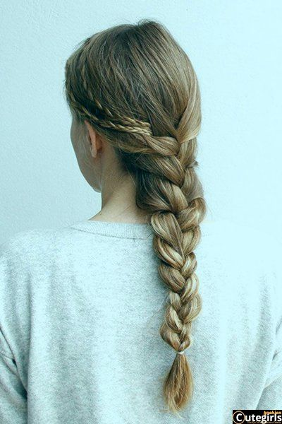 16 Glamorous French Braid Hairstyles in 2020 | Hair styles, French .