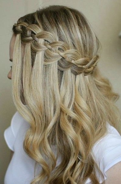 Glamorous French Braid Hairstyles