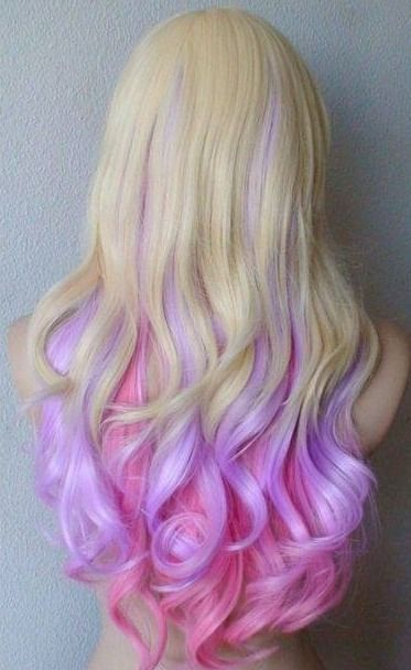 16 Glamorous Purple Hairstyles | Hair color, Crazy hair, Mermaid ha