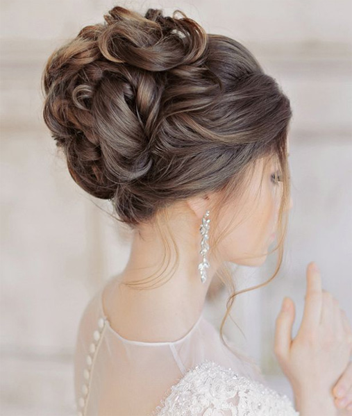 Elegant Glamorous Wedding Updo Hairstyles 2015 - 2016 | Full Do