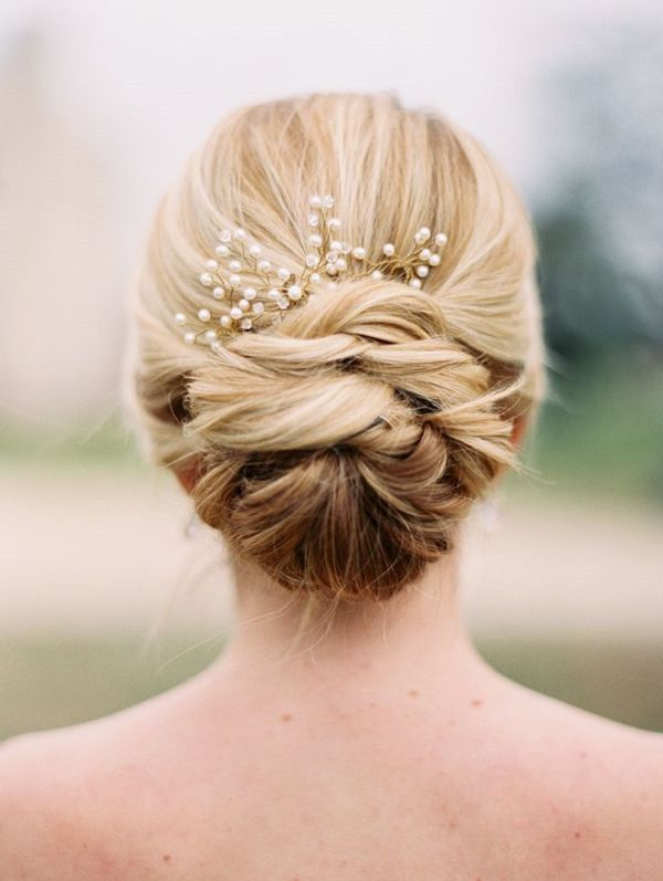 21 Glamorous Wedding Updos that You Will Love | Wedding hairstyles .