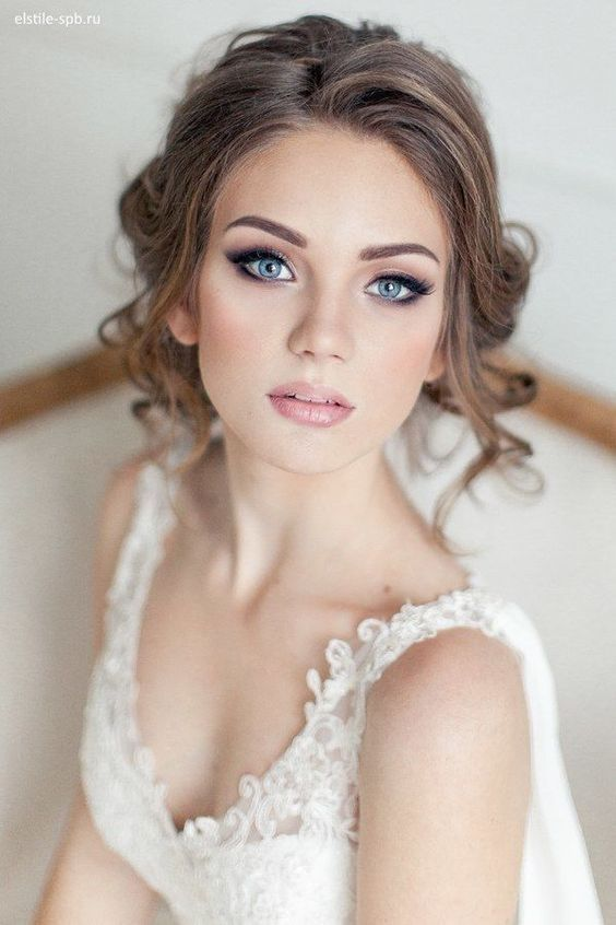 45 Glamorous Wedding updos for long and medium hair – CircleTre