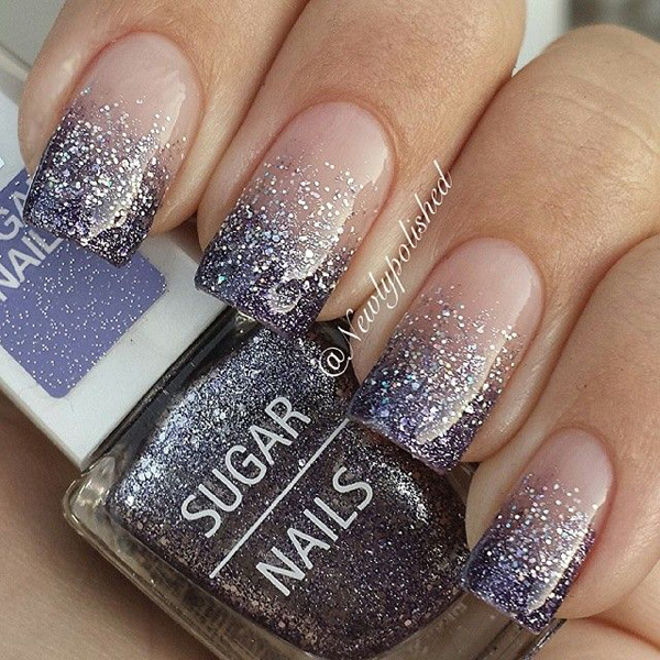 60 Glitter Nail Art Designs | Art and Desi