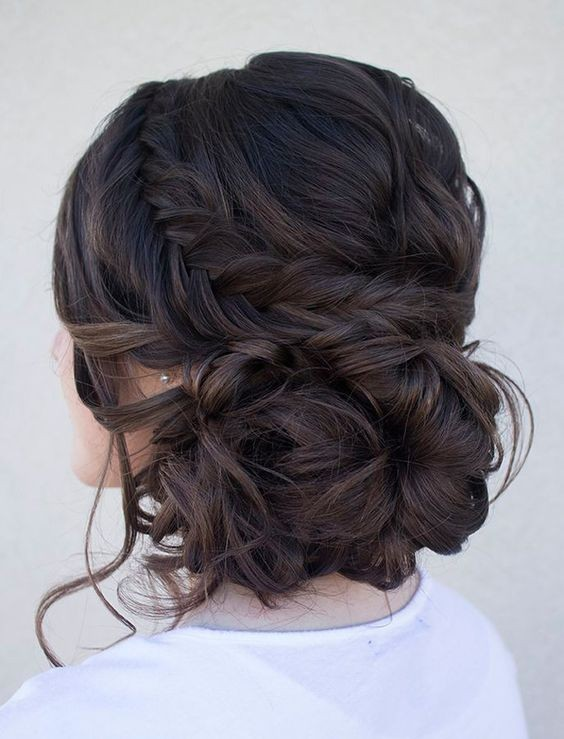 Gorgeous Braided Updos for Brides - Updo Hairstyles for Long Hair .