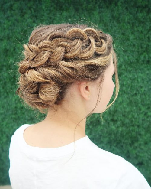 29 Gorgeous Braided Updos for Every Occasion in 20