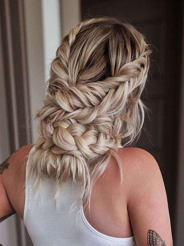 Gorgeous Braided Updo Hairstyles for Women to Follow Nowadays .