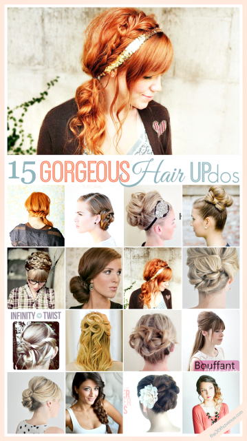 Hair Updo Tutorials | Gorgeous hair, Up hairstyles, Long hair styl