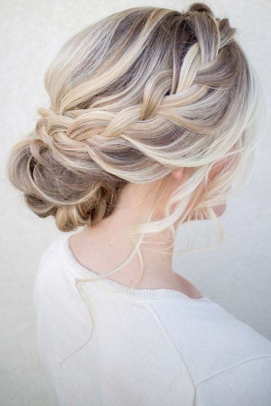 36 Messy Wedding Hair Updos For A Gorgeous Rustic Country Wedding .