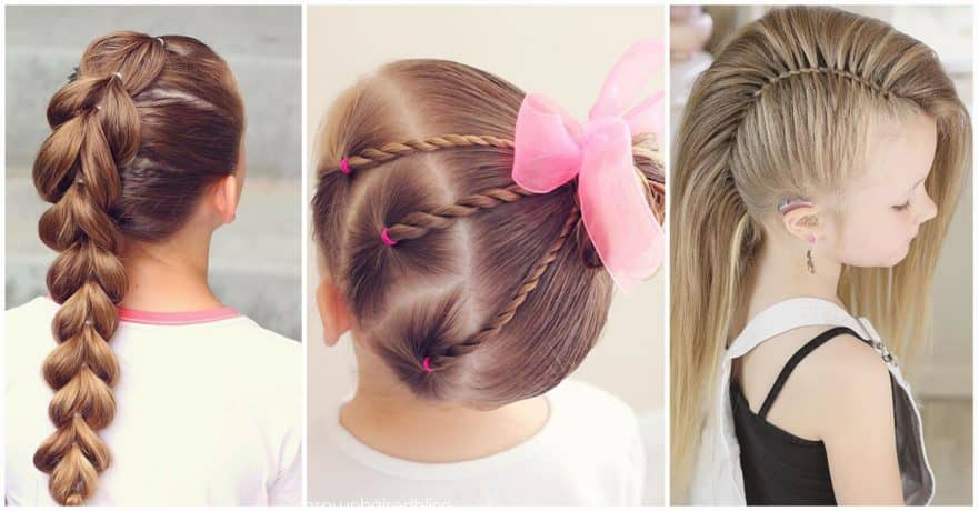50 Pretty Perfect Cute Hairstyles for Little Girls to Show Off .