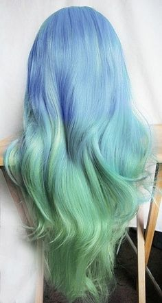 17 Great Blue Hairstyles | Hair styles, Mermaid hair, Hair col
