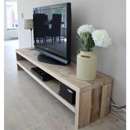10+ DIY TV Stand Ideas You Can Try at Home | Tv stand plans, Diy .