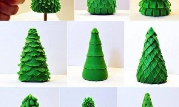 45 DIY Cute Christmas Tree Crafts Ideas You Can Try With Your .