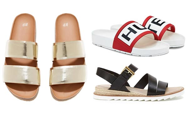 The best flat summer sandals to buy now | HELL
