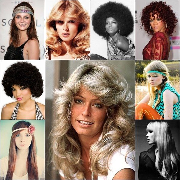Years to Years Hairstyle Trends that are Still High | Disco hair .