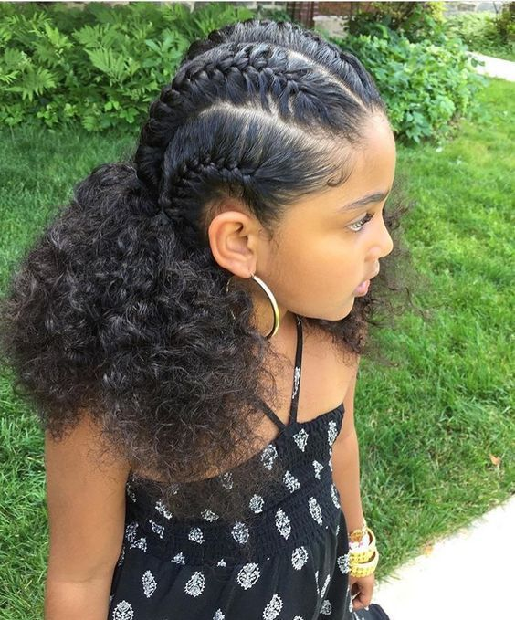 Image result for easy hairstyles for black kids | Natural hair .