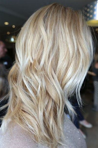 16 Great Highlighted Hairstyles | Frisuren, Haarfarben, Hellblonde .