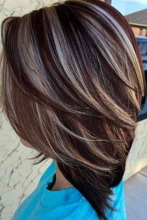 Great Highlighted Hair for Brunettes ☆ See more: http .