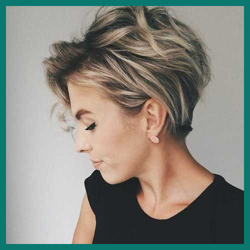 Highlighted Short Hairstyles 61402 Pin On Great Hair - Tutoria