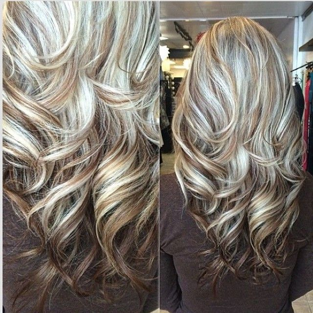 Trendy Hair Color - Highlights : Great highlight / lowlight mix .
