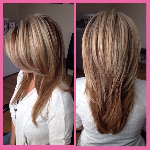 21 Great Layered Hairstyles for Straight Hair 2020 | Hair styles .
