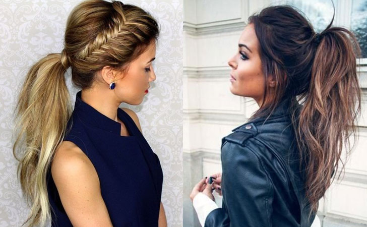 30 Simple Easy Ponytail Hairstyles for Girls - Ponytail Ideas 20