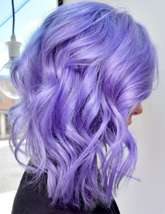 Lovely Metallic Lavender Hair Color Ideas To Try Now | Bold hair .