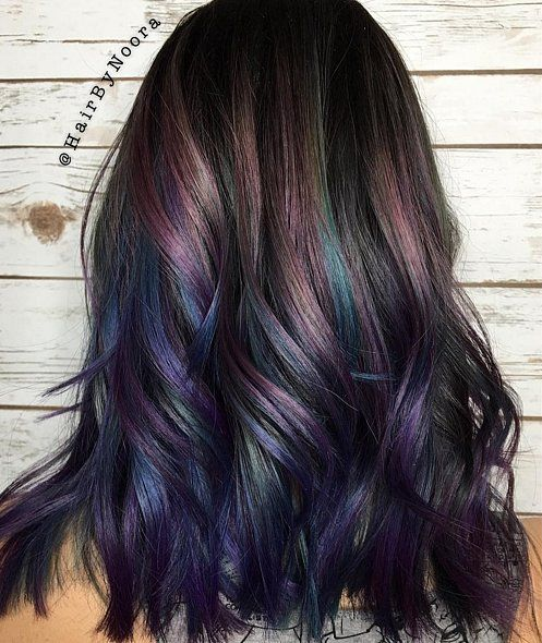 Try This New Colorful Hair Trend If You Want to Ruffle Some .
