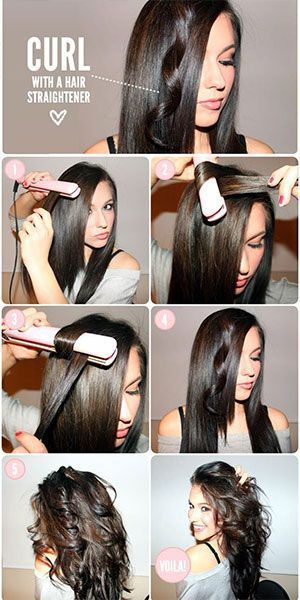 15 Hair Tricks Created by Hair Straightener | beauty | Hair styles .