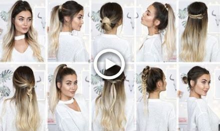 15 Hair Tricks Created by Hair Straightener | Hair Stuffs in 2019 .