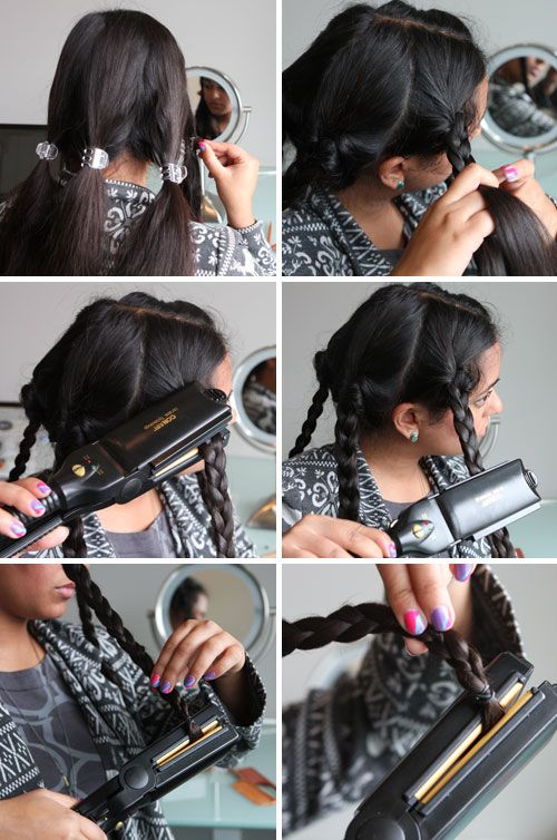 Hair Tricks Created by Hair Straightener