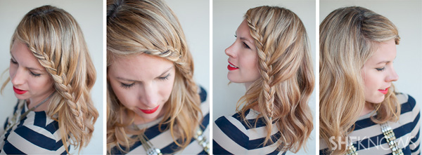 How-to: Lace braid hairstyle tutorial – SheKno